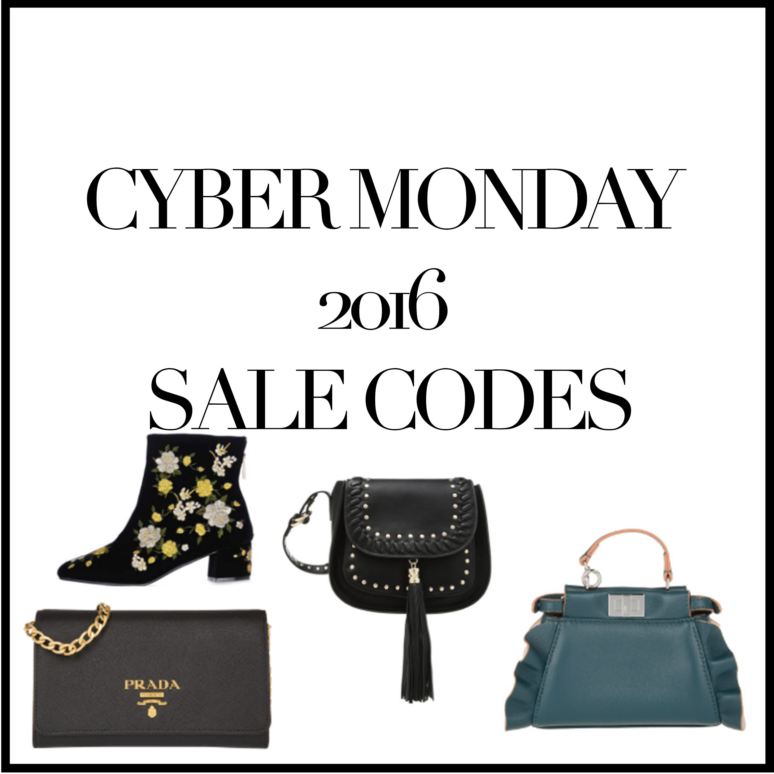 CYBER MONDAY 2016 SALE CODES – DIE BESTEN DEALS!