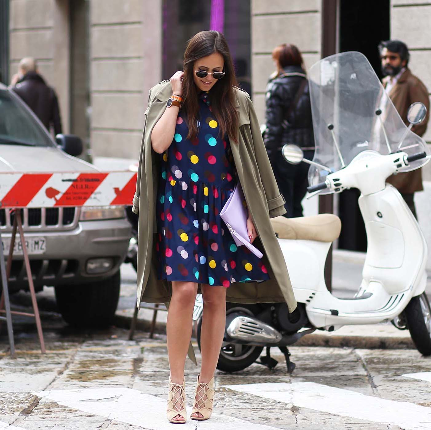 MILAN STREETSTYLE – DO YOU LIKE POLKA DOTS?