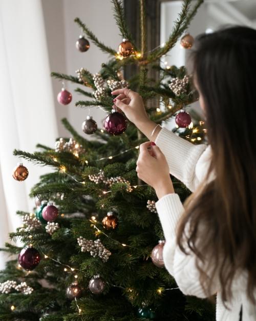 Kitschige Weihnachtsdeko mein erster weihnachtsbaum für die wohnung blume2000