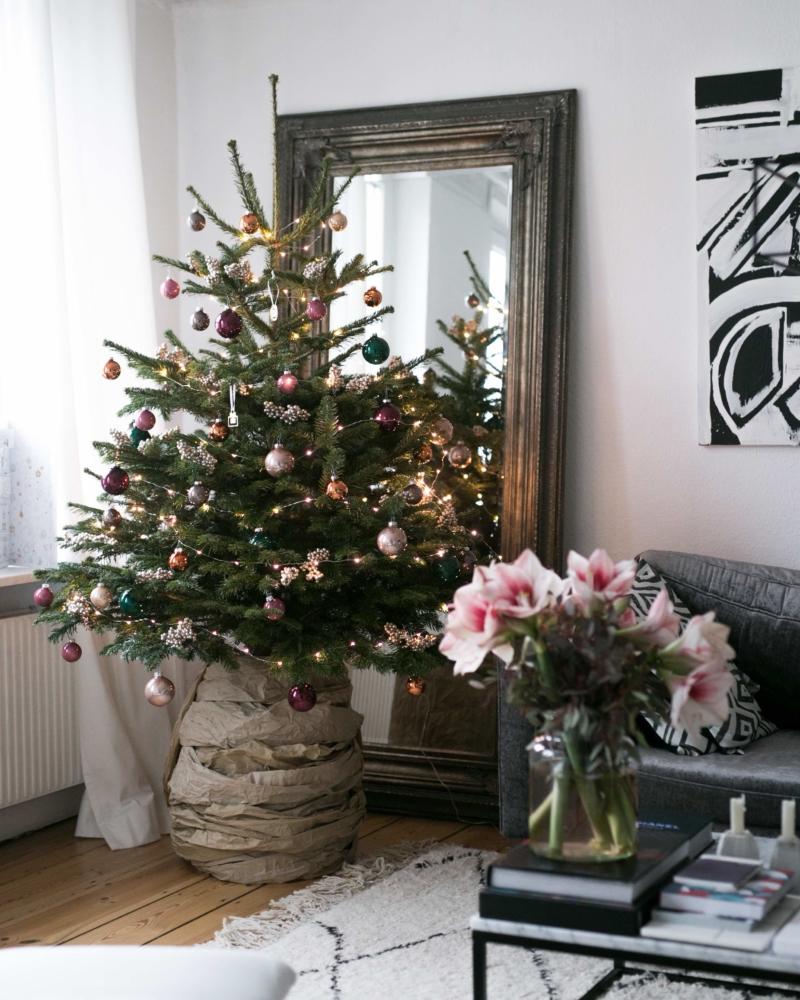Mein erster weihnachtsbaum f r die wohnung von blume2000 - Weihnachtsdeko wohnung ...