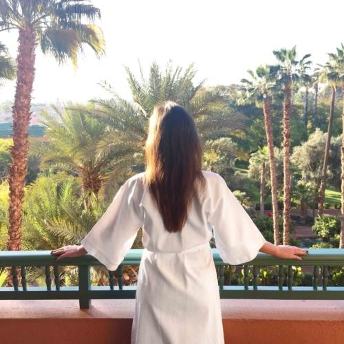 Waking up in Marrakech