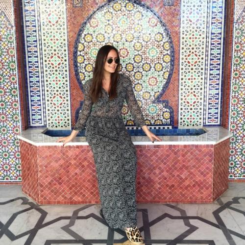 langes kleid im Orient