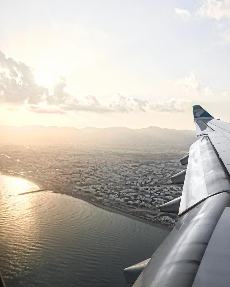 Blick aus Flugzeug 2