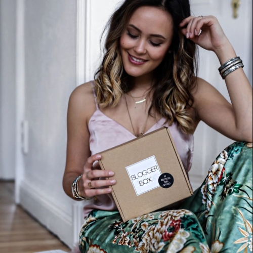 Blogger Box, Feel Good, Geschenk