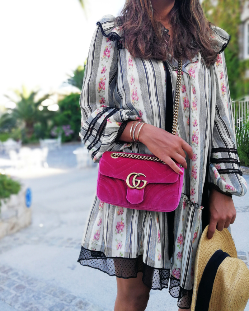 Guccistyle, Fashionblogger high end fashion, Gucci Marmont pink