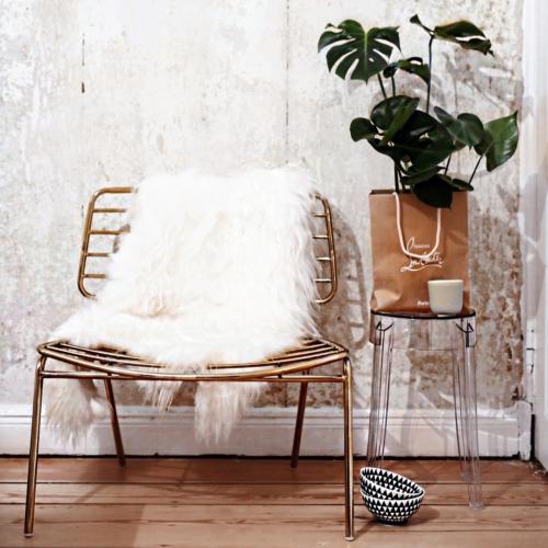 Gold, Accessoires, Interieur, Interior, goldener Stuhl