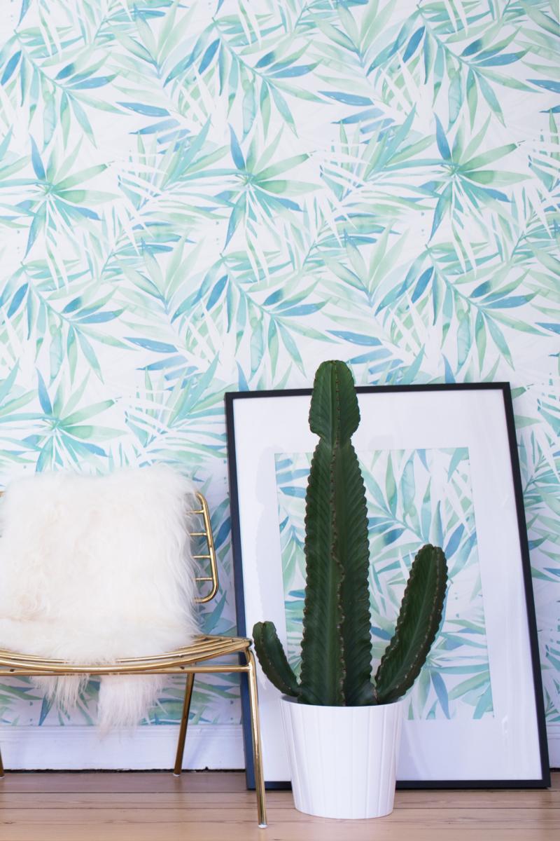 Tapeten-Kollektion Inspiration Gestaltung Stuhl Kaktuss Bild